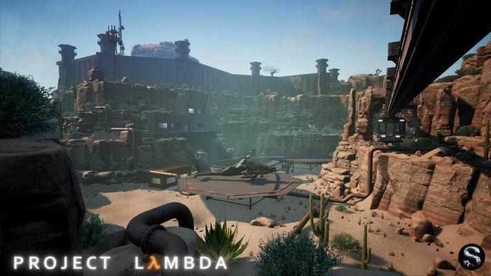Project Lambda Half-Life Unreal Engine 4 Fan-Remake Screenshot 2