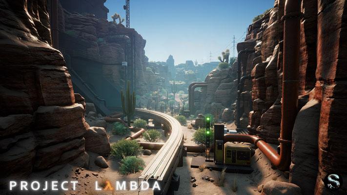 Project Lambda Half-Life Unreal Engine 4 Fan-Remake Screenshot 3