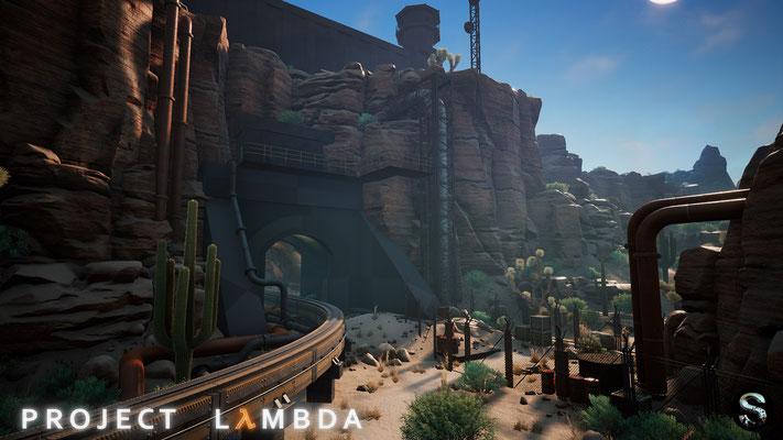 Project Lambda Half-Life Unreal Engine 4 Fan-Remake Screenshot 5