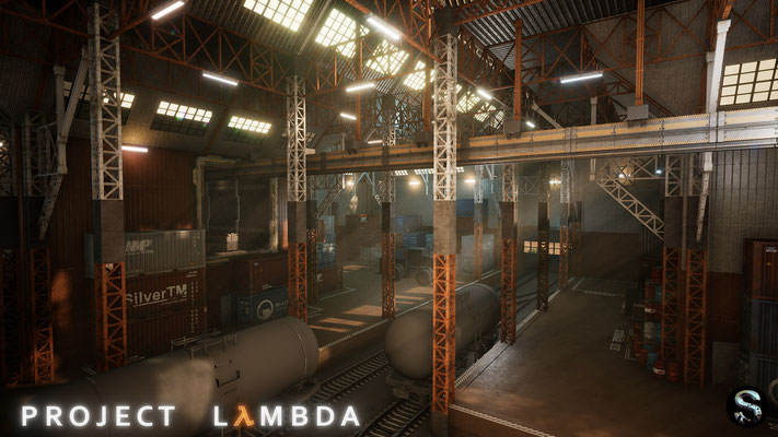 Project Lambda Half-Life Unreal Engine 4 Fan-Remake Screenshot 4