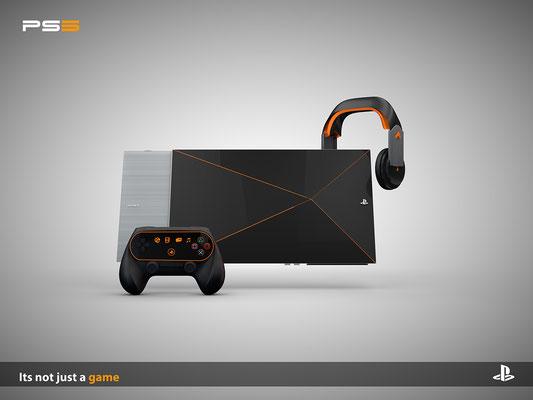 PS5 Konzeptbild #1 - Bilderquelle: Fateh Dogar