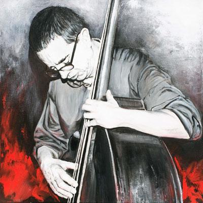 Django, 60 x 60 cm, Acryl auf Leinwand, 2015