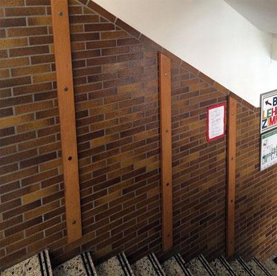 Treppenhaus im alten Zustand.