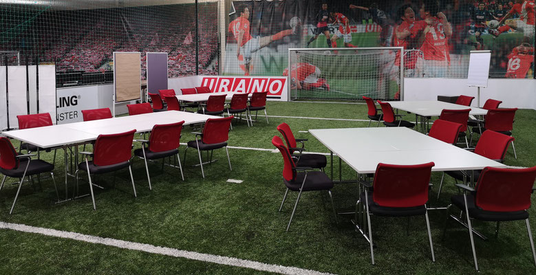 Die Activity Area im URANO Training & Activity Center