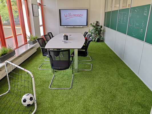 Die Soccer Lounge im URANO Training & Activity Center