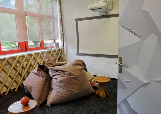 Der Innovation Room im URANO Training & Activity Center