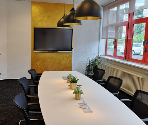 Der Meeting Room im URANO Training & Activity Center