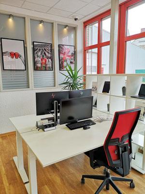 Die Workplace Area im URANO Training & Activity Center