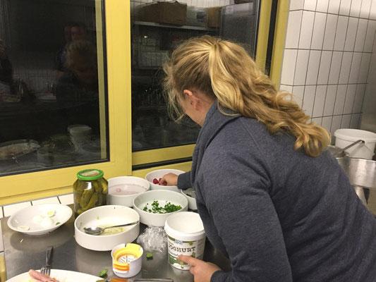 Küchenteam Winterunterhaltung 2018