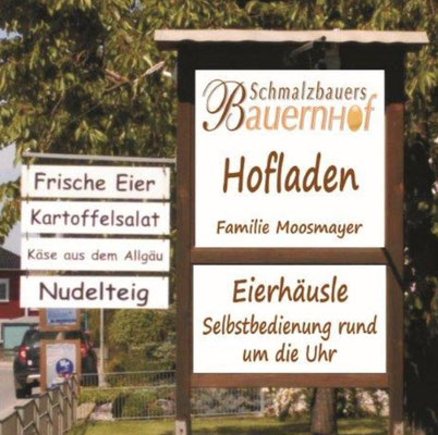 Hofladen Moosmayer , Schmalzbauer, Burgrieden, Rot, Wochenmarkt Laupheim