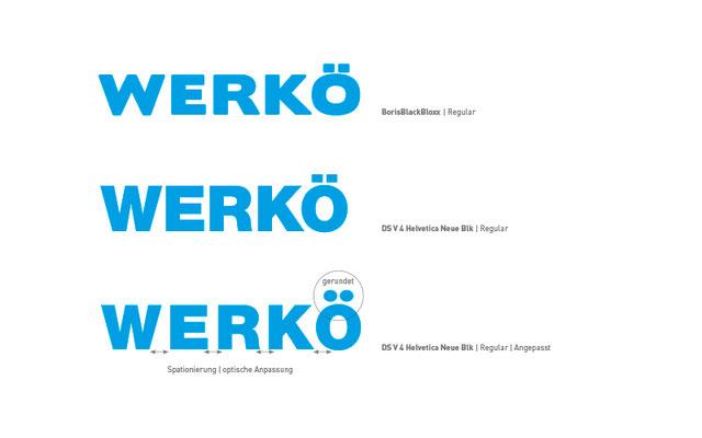 Werkö Logoentwicklung