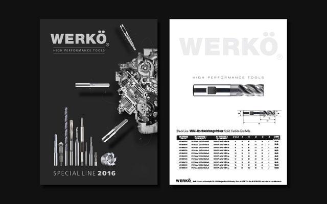 Werkö Broschüre und Preisliste
