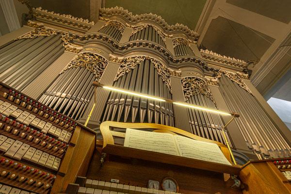 Walcker Orgel in der Jakobuskirche, Ilmenau