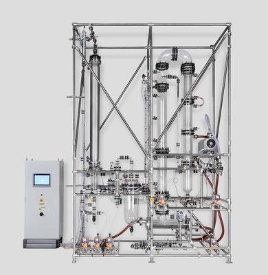Produktfotografie einer Laboranlage für NORMAG Lab & Process Glass