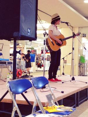 2014.6.14.sat. イオンタウン有松 『Acoustic Live』