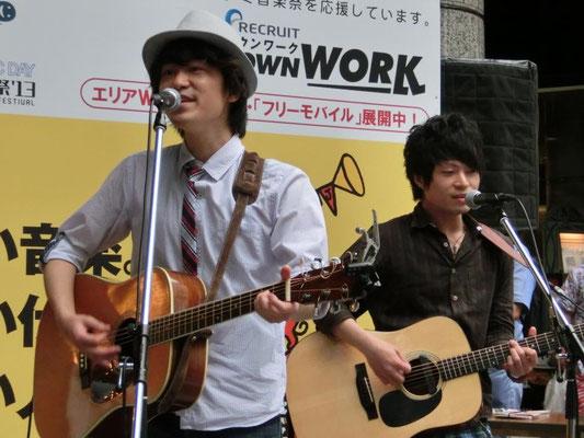 2013.5.11.sat. 大津通栄ガスビル前 『栄ミナミ音楽祭'13』