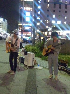 2010.9.29.wed. 金山 『Street Live』 with 渡部裕也