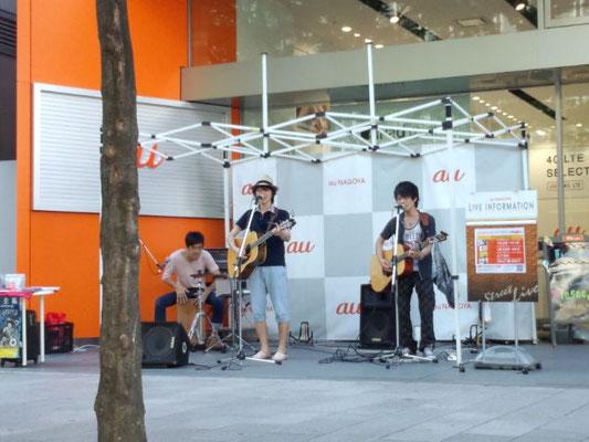 2013.7.20.sat. 栄 au NAGOYA 『au NAGOYA presents ストリートライブ with Heartland STUDIO』