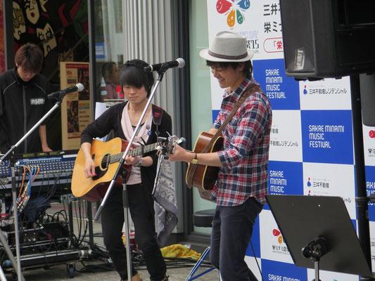 2015.5.9.sat. 名古屋スクールオブミュージック専門学校前 『栄ミナミ音楽祭'15』