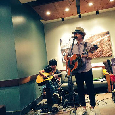 2015.8.12.wed. STARBUCKS 栄チェリープラザ店 『STARBUCKS MUSIC LIVE』