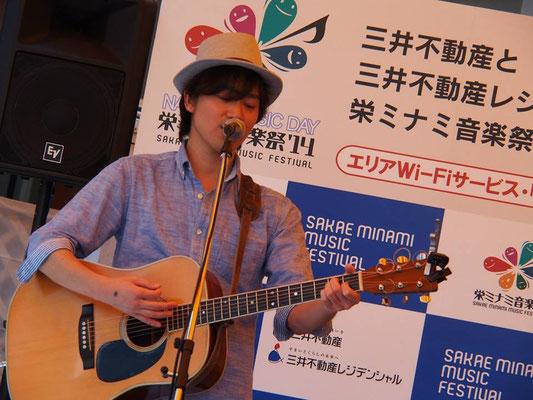 2014.5.10.sat. 大須 グッドウィル前 『栄ミナミ音楽祭'14』