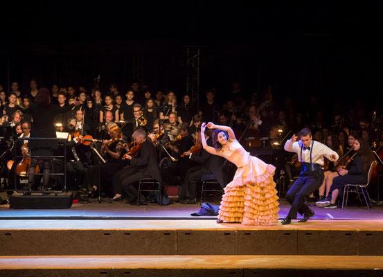 Stadtteiloper Bremen, Kammerphilharmonie Bremen, Regie: Alexander Radulescu ©Jörg Sarbach