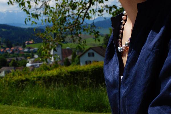 Schmuckideen für heisse Sommertage - Halsschmuck