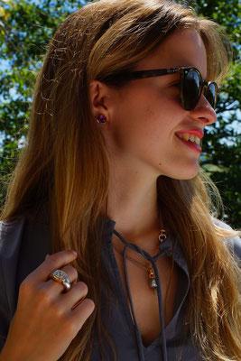 Schmuckideen für heisse Sommertage - Finger und Halsschmuck