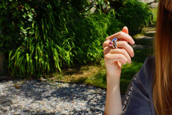 Schmuckideen für heisse Sommertage - Fingerschmuck