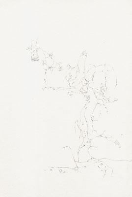 Akt I, 21,0 x 29,7 cm, Zeichnung