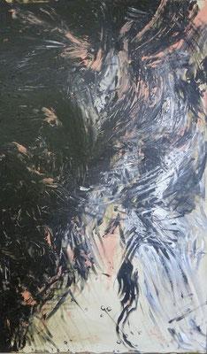 AUS DER TIEFE, Maria, Acryl, 69,0 x 113,0 cm