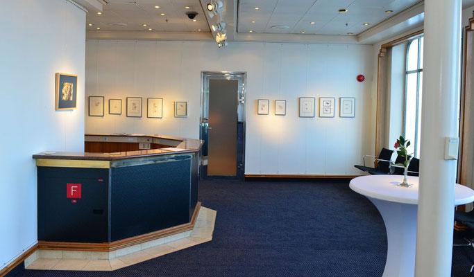 Hängung in der Galerie V (Foto: Christian Hanc)