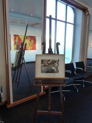 Hängung in der Galerie I (Foto: Christian Hanc)
