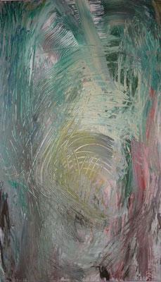 o.T., 161,0 x 93,0 cm, Acryl auf Leinwand