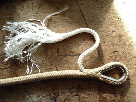 fabrication du cordage des balançoires