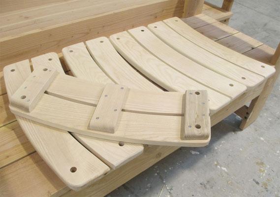 les assises des balançoires