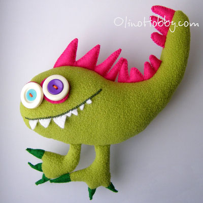 Felt Monster George
