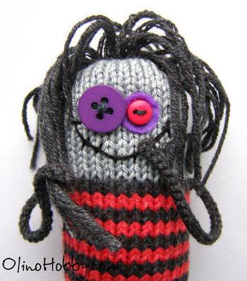 Knitted Monster Babayka