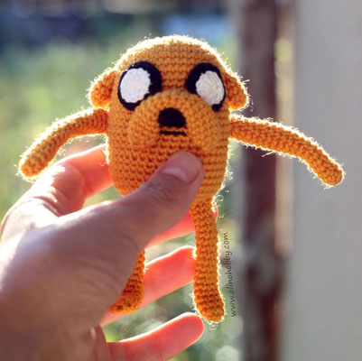 Adventure Time's Jake the Dog Character Hat Crochet Pattern » cRAfterchick  - Free Crochet Patterns and Projects | 400x401
