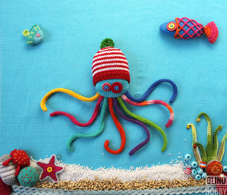 Multicolored Octopus