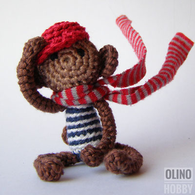 Crochet Mini Monkey