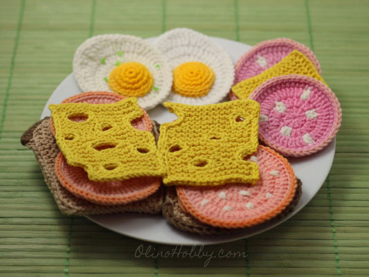 Crochet Food Breakfast