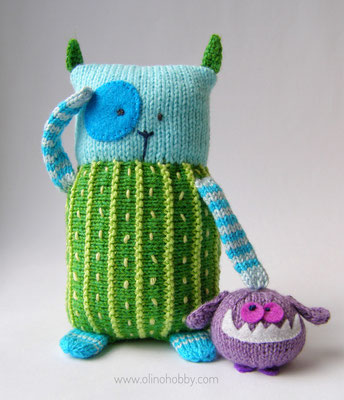 Knitted Monster Toy