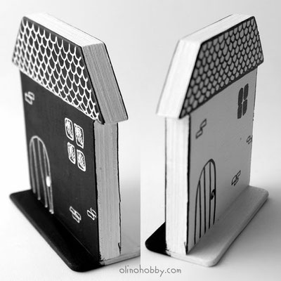 Toy houses from plywood