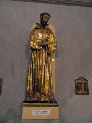 Saint François au couvent de Vico