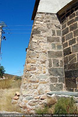 Chapelle du col de Cesario à Cateri