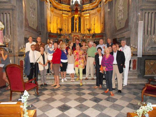 dans l'église de Piana