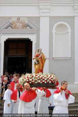 Chapelle Santa Restituta à Calenzana
