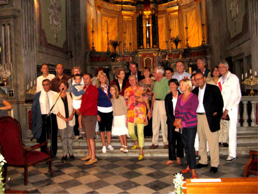 Visite de l'église de PIANA