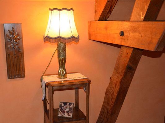 Lampe artisanat de tranchée